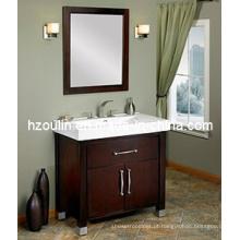 Vaidade do banheiro da madeira maciça (BA-1105)