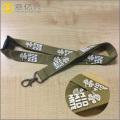 Decorative silkscreen printing custom key holder lanyard