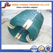 Bwg 22 alambre de hierro galvanizado recubierto de zinc, alambre de unión
