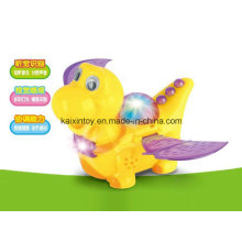 Battery Operated Flying Dragon Toys with Flashing Light and Music
