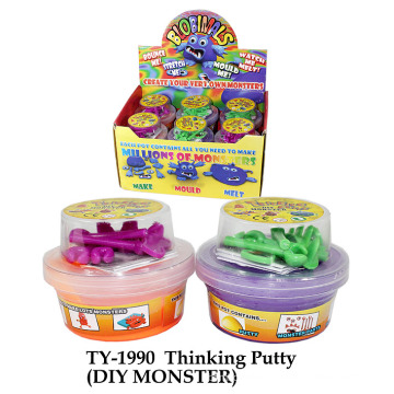 Thinking Putty (DIY MONSTER)