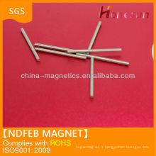 d0.5x12.7 fort petite barre magnétique