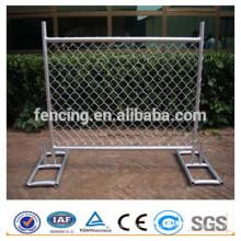 Cerca de malha de arame soldado temporária / painéis de vedação de metal soldada temporária para venda (preço de fábrica)