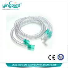 Sistema respiratório de anestesia de PVC reforçado