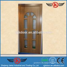 JK-P9098 pvc Bad Tür Preis / PVC Fenster und Tür Profil Tür / Schrank Tür Laminat Design