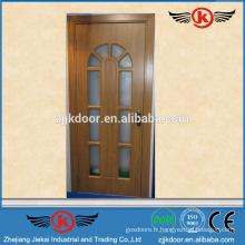 JK-P9098 pvc salle de bain porte prix / pvc fenêtre et porte profil porte / penderie porte stratifié design
