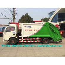 2016 NUEVO 6000L pequeño camión de basura, Euro III o Euro IV camión de basura comprimido a la venta