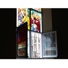 Glass manufacturer custom high quality cheap price art stained glass