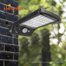 Amazon Hot Sale Rotatable Pir Motion Sensor Solar Powered Night Wall 36 Led Security Light