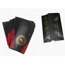 Bolsas de té negras de Ceilán / bolsita de té de la hoja mate / bolsita de té plástica