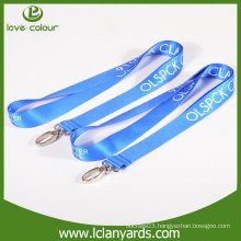 New Style Cheap Custom Hot Selling Polyester Material Lanyards For A Big Meeting