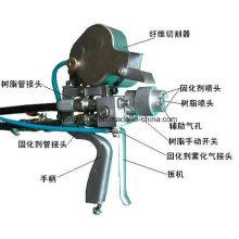 Machine de pulvérisation hachée - Pistolet de pulvérisation