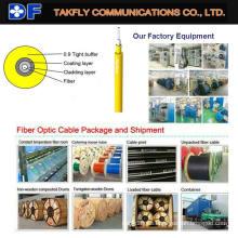 Cables de fibra óptica Simplex de un solo modo / multimodo