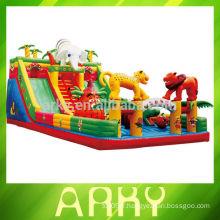 Équipement d'amusement gonflable extérieur incroyable pour enfants