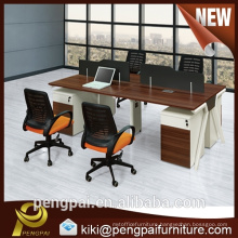 Colorful four seater mela mine workstation specification