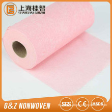 Spunlace Wave Lines Printing Dry Cleaning Cloth