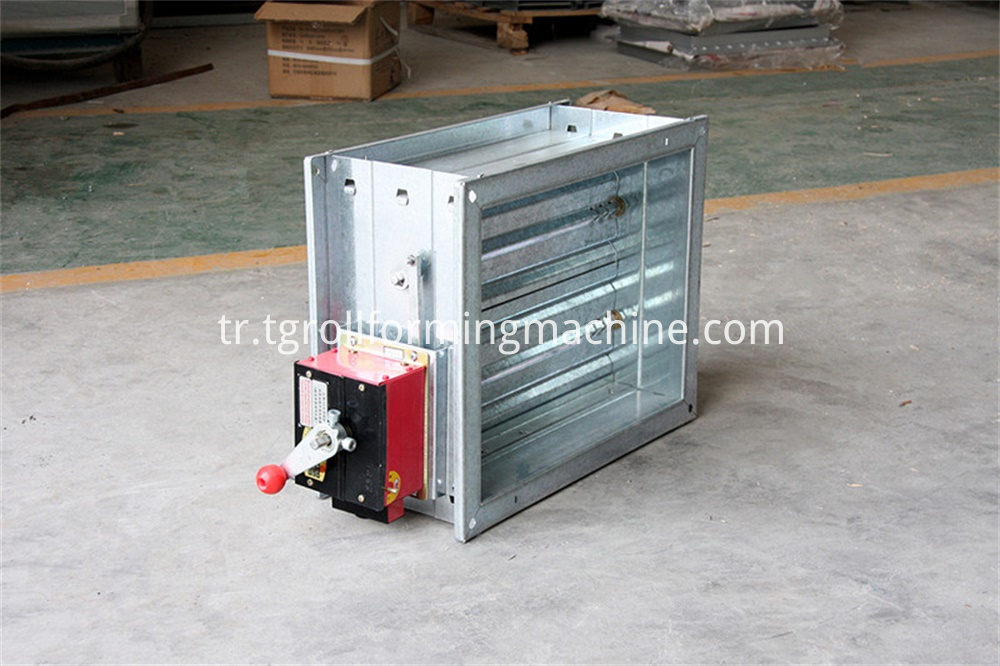 Metal Shutter Fire Damper Forming Machine
