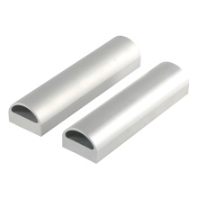 Professional Produce Seamless Aluminum Extrude Extrusion Oval Tube