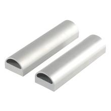 Tubo de alumínio para extrusão de extrusão de alumínio profissional sem costura oval tubo de alumínio