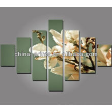 Moderne riesige Blumen-Gruppe Leinwanddrucke Platten