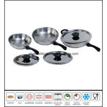 6PCS Gourmet Skillet Frypan Set