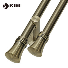 kyok bronze curtain rod sets 25mm single curtain rod accessories for home decor