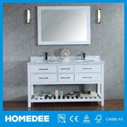Ý trắng Carrara đồ nội thất công cụ bằng đá cẩm thạch Wicker đầu trắng bán buôn phòng tắm