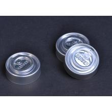 Tear-off cap for infusion bottle