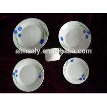 Jogo de louça 20pcs conjuntos de louça de cerâmica