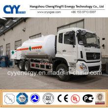 Cyy Liquid Oxygen Nitrogen Argon Cabochon Dioxide Cryogenic Tank Truck