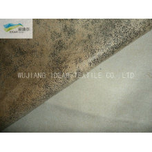 105 * 300 D Mikrofaser Polyester Warp Wildleder Stoff Sofa