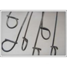 Cable de lazo doble, 20 #, 6 pulgadas