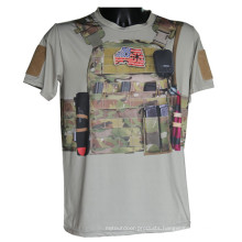 Wolf Slaves Tactical Sport T-Shirt Military Python Camo T-Shirt