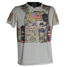Lobo escravos esporte tático camiseta Python militar Camo t-shirt