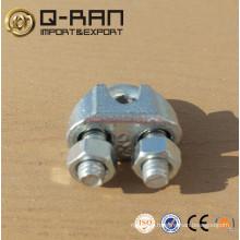 Câble d'acier malléable Clip/galvanisé malléable câble Clip