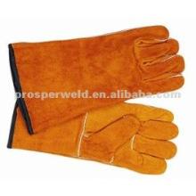 """Los nuevos guantes de soldadura de cuero de cuero de 16 """"protegen al soldador de herramientas de manos"""