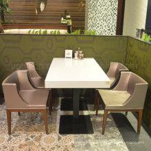 Moderne kommerzielle Cafeteria Cafe Möbel Restautrant Tisch Stuhl (SP-CS310)