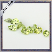 Crystal Clear Natural Peridot Stone for Fashion Jewelry