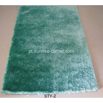 Poliéster 1200D Thick Yarn Shaggy Carpet