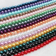 Dijual Hot kaca imitasi manik-manik mutiara perhiasan pesona