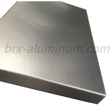 Anodized Brushed Aluminum sheet for decoration