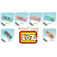 2016 Nouveaux blocs de diamants LOZ Étui à crayons en plastique Étui en plastique pour crayon