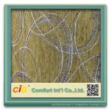 Tissu design Chenille pour canapé