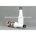 High Quality White Aluminum beer bottle Sublimation Canteen