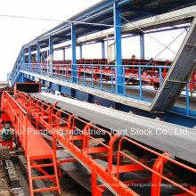 Sistema transportador / transportador de banda / transportador de banda para mina de carbón