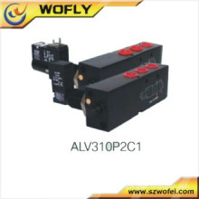 internal12v dc solenoid valve for pneumatic actuator