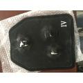 Dividido de 9 mm de carburo de silicio Nivel NIJ IIIA 0101.06 Ballistic Plate