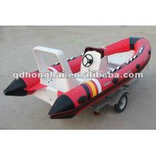 Motor Boot Fischerboot RIB520 Geschwindigkeit
