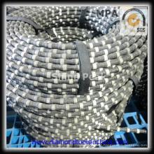 Serra de fio diamantado para esquadria de blocos de granito