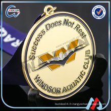 Médaille de gymnastique sur mesure 2010